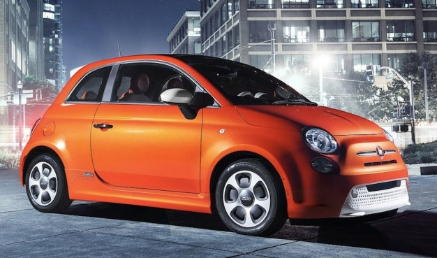 First look at the 2014 Fiat 500e before 2012 LA Auto Show debut
