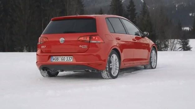 Video: Volkswagen teases 4MOTION MK7 Golf for EU