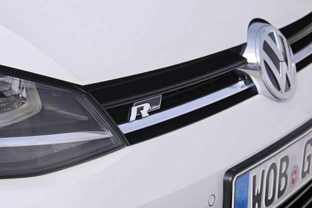 2013 Volkswagen Golf R-Line Package Grille