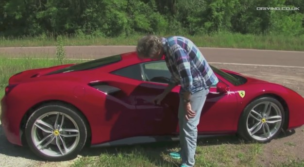 Video: Watch James May perform a non-Top Gear-related test drive with the Ferrari 488 GTB