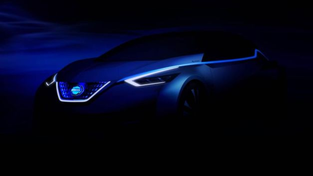 Nissan teases what could be the next-gen LEAF for Tokyo