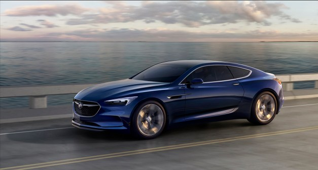 2016 Detroit Preview: The Buick Avista Concept signals the American Trident's return to rear-wheel drive