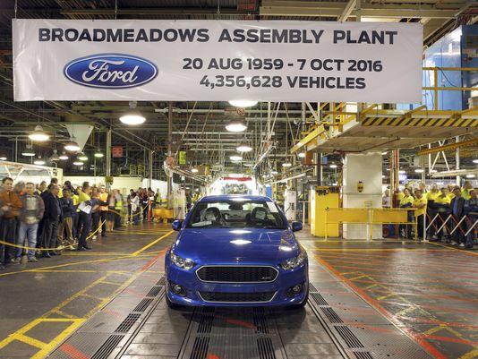 Report: Ford produces last Falcon and last car in Australia, ever