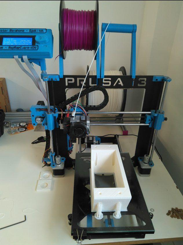 Imprimiendo chasis