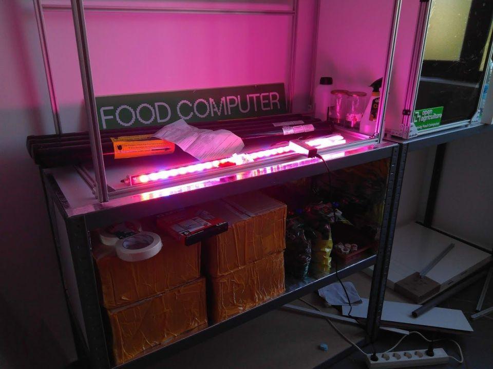 Barra LED 85W encendida
