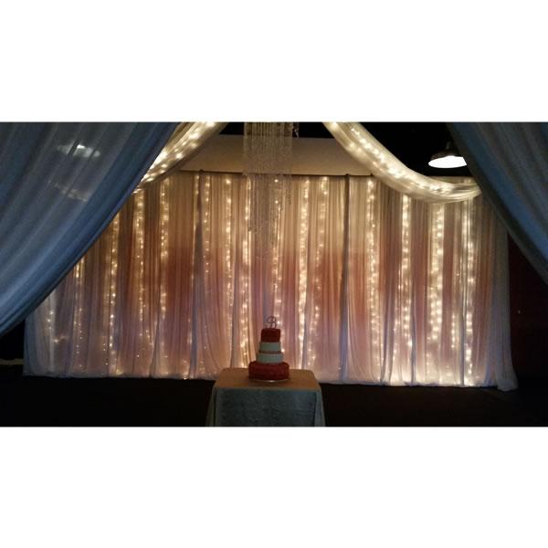 Drape String Lights Ceiling : Ceiling Drape, String Lighting - Egpres