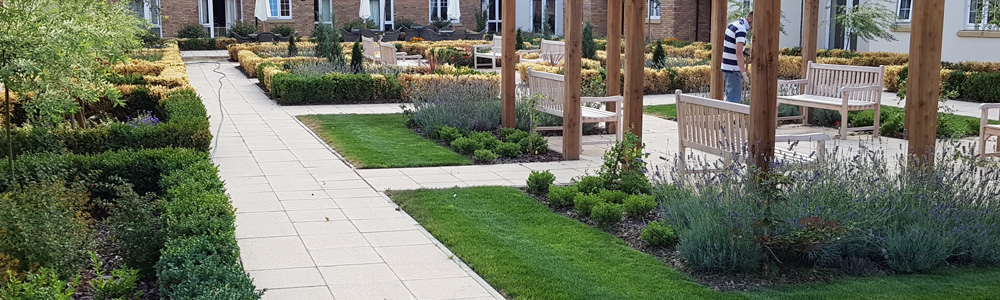 Grounds maintenance, gardening, arboreal work, Ely, Cambridgeshire, UK