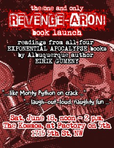 Revenge-aroni Book Launch