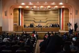 اولي محاضرات معهد محاماة القاهرة برئاسة عاشور وحضور سرور 15