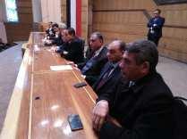 النقيب خلال إفتتاح معهد المحاماة