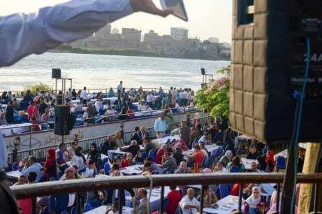 حفل افطار نقيب المحامين السنوي بالنادي النهري بالمعادي (1)