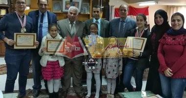Photo of تكريم الطلاب الموهوبين بمدارس دمنهور