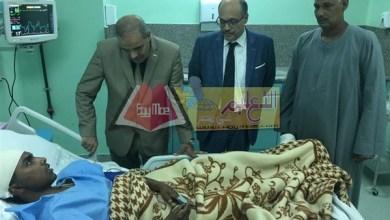 Photo of طالب حادث القطار يصل مستشفى الأزهر التخصصي .. والمحرصاوي يطمئن عليه