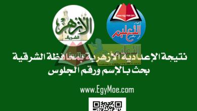Photo of نتيجة الدور الثاني للشهادة الإعدادية الأزهرية بالشرقية 2019