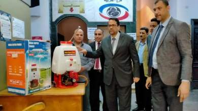Photo of تعليم الغربية : جمعية رعاية الطلاب تتبرع بـ 11 ماكينة تطهير المديرية والإدارات