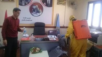 Photo of النيلي : تعقيم ديوان إدارة براني التعليمية لمواجهة كورونا