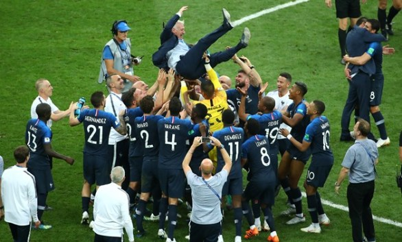 Image result for France win second World Cup with 4-2 win over Croatia