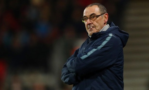 Angry Sarri repeats claim he cannot motivate Chelsea players - EgyptToday