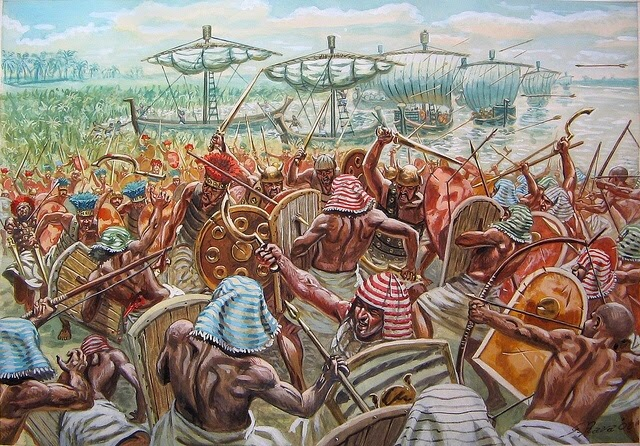 The Battle of Djahy - Egypt Tours Portal
