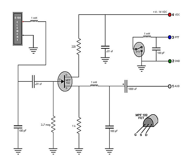 Astatic D 104 Wiring Diagrams Mike Wiring Diagrams