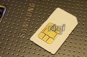 Karta SIM duża na Samsung Galaxy S5