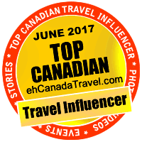 eh Top Canadian Travel Influencer in June