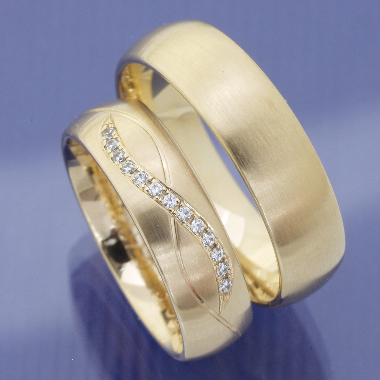 EheringeShop  Eheringe aus 585 Mittelgold P2244256