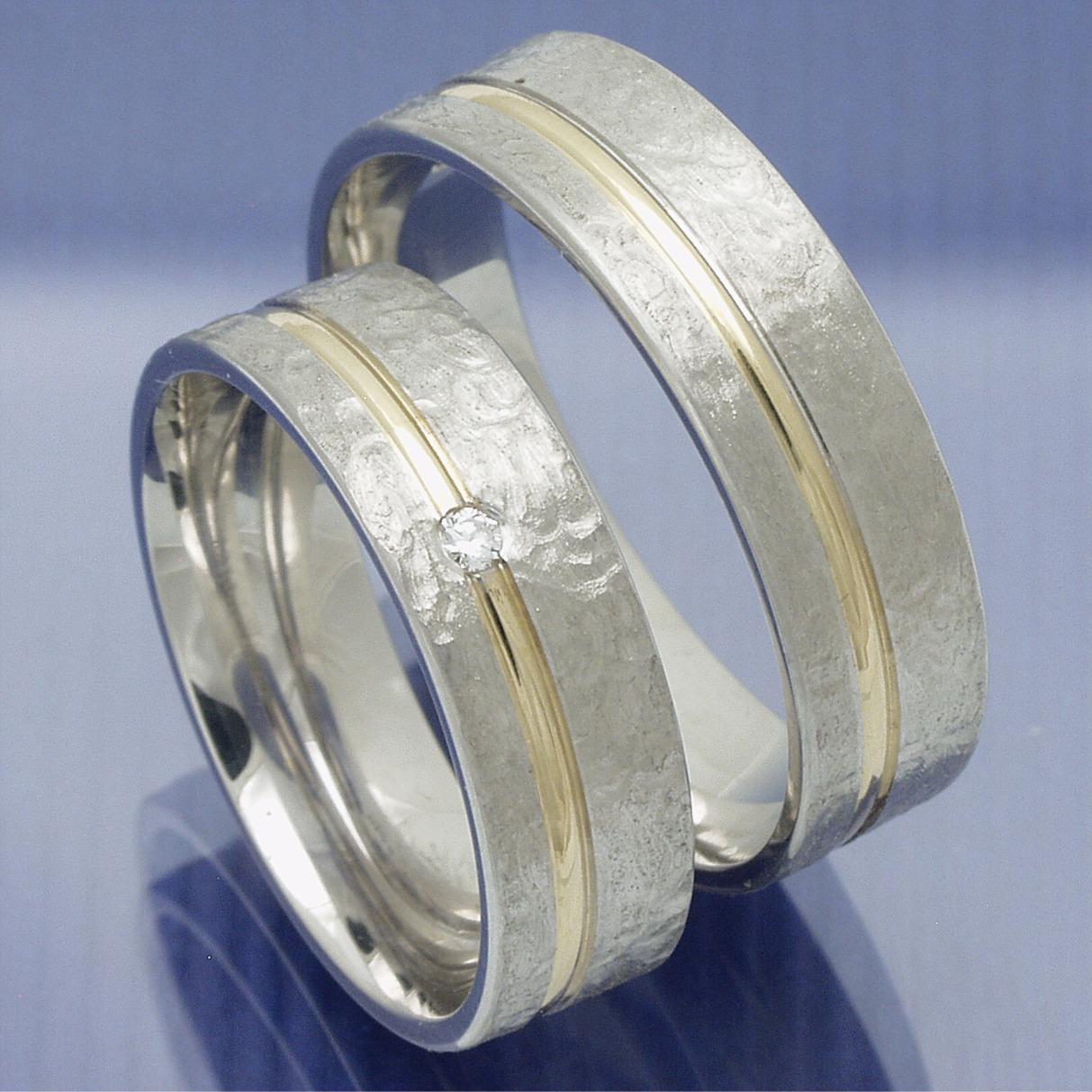 EheringeShop  Trauringe Verlobungsringe Silber Gold