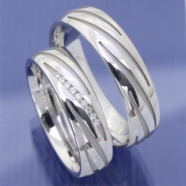 EheringeShop  Verlobungsringe White Style aus Silber