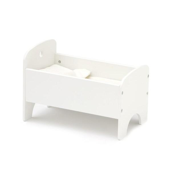 cama de bonecas branca da Kids Concept