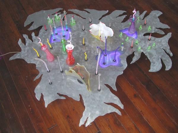 Marsh Bed Sculpture Bases Neon Art