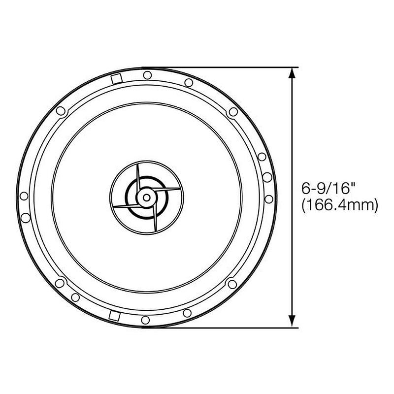 JBL Lautsprecher STAGE600CE 300W Kompo für Alfa Romeo Mito