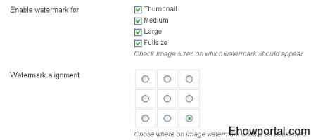 Watermarking WordPress footer plugin