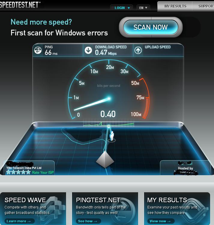 Internet Speed Test Online - Check Internet Connection Speed