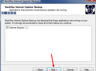 How To Backup Internet Explorer Settings with BackRex