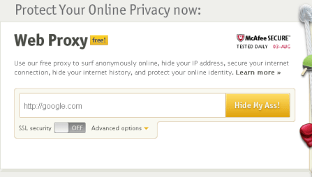 Free proxy hide my ip