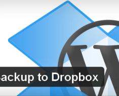 WordPress database Backup to Dropbox