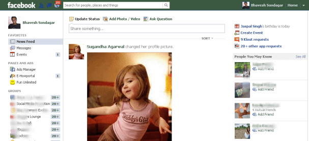 Change Facebook Color Scheme