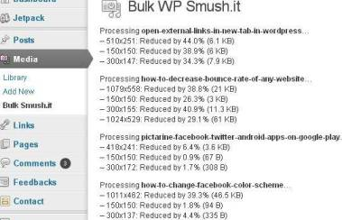WP Smush it WordPress Plugin