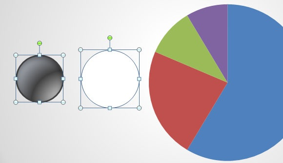 Inserting Doughnut charts in PowerPoint -1