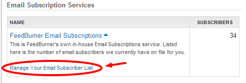 remove any feed subscribers from your google feedburner account