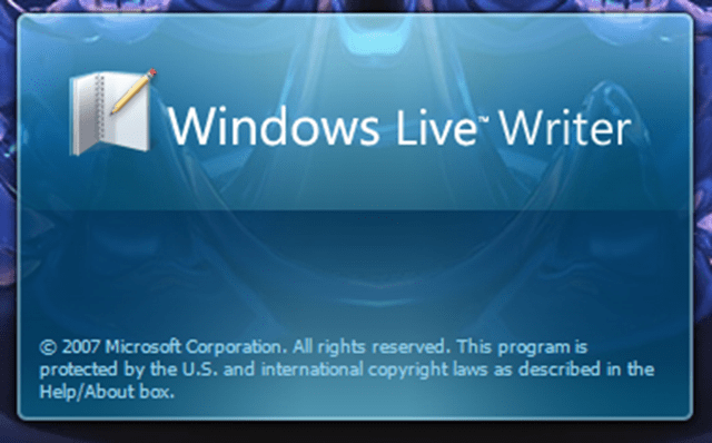 Download Windows Live Writer from Official Microsoft Download