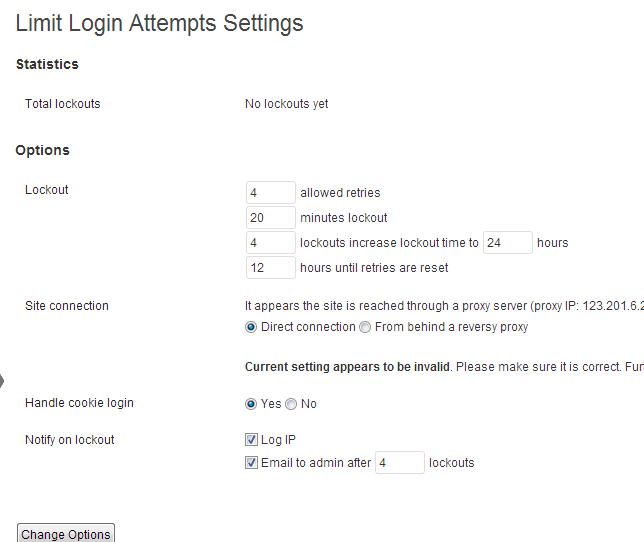 Prevent WordPress Blog From Being Hacked - Limit Login Attempts