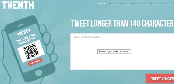 Twenth: Tweet Longer Than 140 Characters