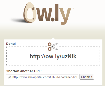 Ow.ly - Shorten urls, share files and track visits - Owly