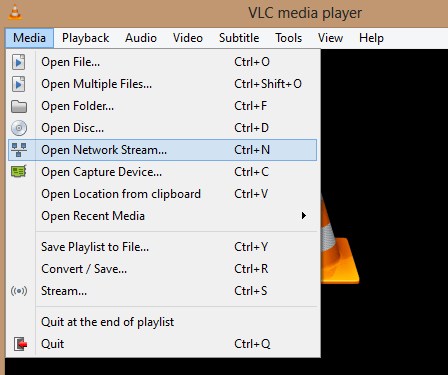 VLC Media Player - Playing Radio Channels online