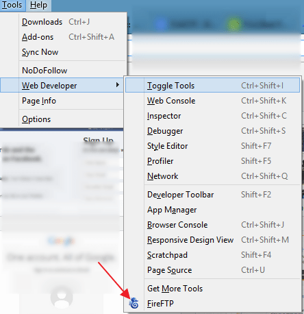 How to Use FireFTP in Firefox