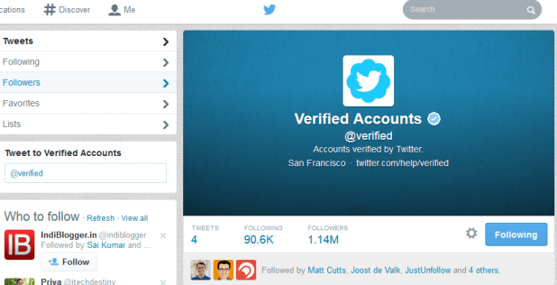get twitter verified account