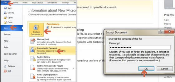 How to Lock Word Documents