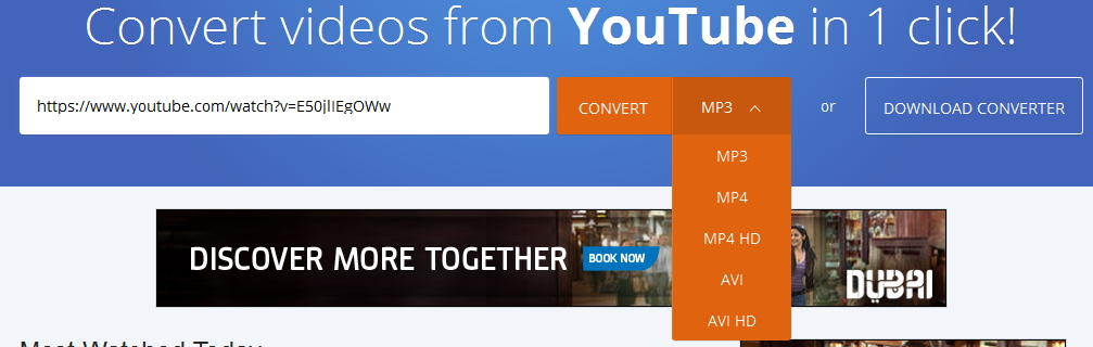 2Conv - youtube to mp3 converter